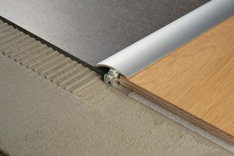 Laminaat Frans Eiken : Multiclip clf profiel voor hout en laminaat profils de sol